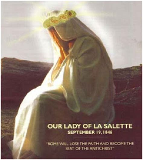 these last days ministries our lady of the roses mary infallible catholic the great apostasy