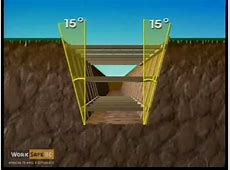 Excavations (5 of 6): Sloping and Shoring - Part 2 - YouTube Free Clip Art Images Construction