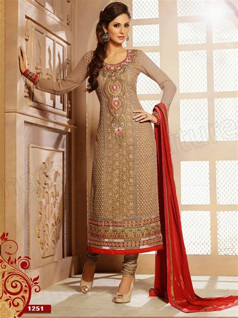 latest straight cut salwar kameez suits   collection