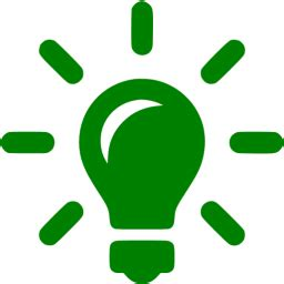 What Is A Type A Light Bulb Green Solutions Icon Free Green Light Bulb Icons
