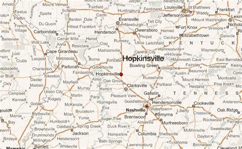 kentucky map hopkinsville gu 237 a urbano de hopkinsville