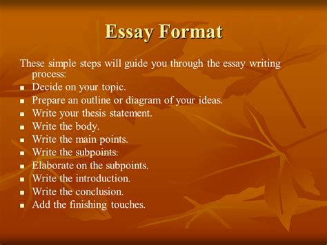 how to write a basic essay basic guide to writing an essay presentation language sliderbase
