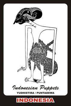 anomali tattoo jakarta indonesia wayang arjuna janaka shadow puppet java