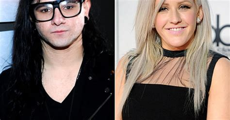 skrillex dating skrillex is dating ellie goulding us weekly