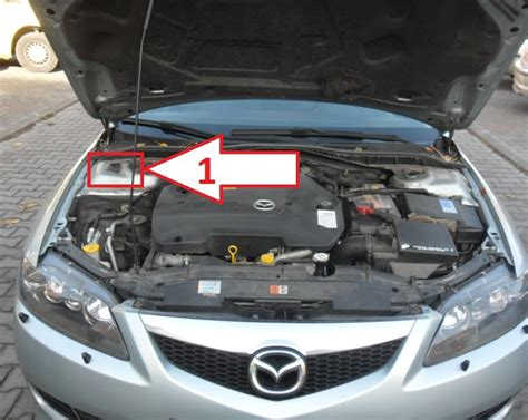 where is mazda mazda 6 2005 2007 where is vin number find chassis