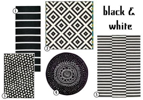 black and white rugs ikea black white rugs from ikea pieces elements