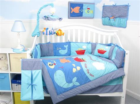 Baby Bed Setting Boys Nursery Bedding Best Baby Decoration