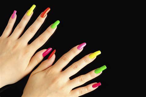 imagenes de uñas pintadas de un solo color u 241 as postizas da 241 an la salud de tus manos salud180