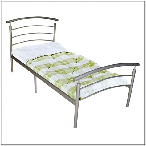 metal bed frames single white bed frame single beds home design ideas