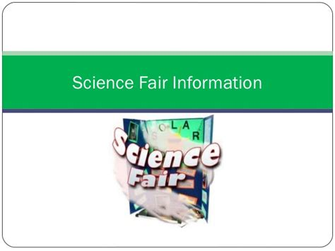 science fair powerpoint template science fair informational ppt 2014