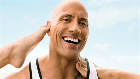 the rock the rock even excels at growing hair gq