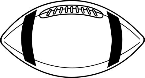 football drawing template clip football 9