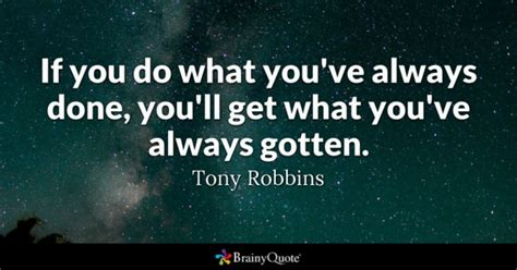 What Do You Learn Getting Your Mba by Tony Robbins Quotes Brainyquote