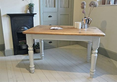 pine farmhouse kitchen table pine painted farmhouse kitchen table by distressed but not