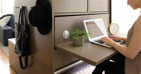 robotic wall robotic furniture for tiny homes