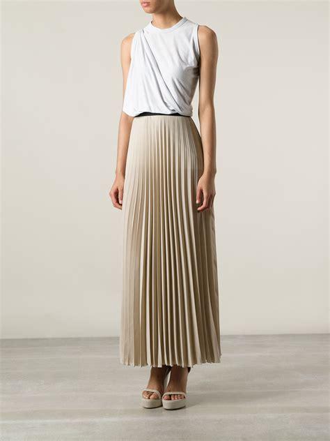 Skirt Naura lyst p a r o s h pleated skirt in