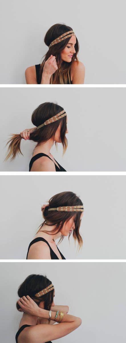headband styler tutorial 10 pretty headband hairstyle tutorials be modish