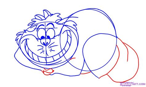 How To Draw Cheshire Cat how to draw the cheshire cat step by step disney