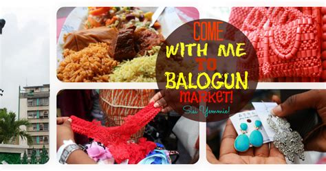 Come With Me To Balogun Market Sisiyemmie Nigerian Food | come with me to balogun market sisiyemmie nigerian food