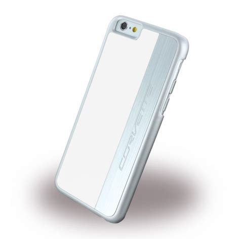 corvette iphone 6 6s plastik weiss