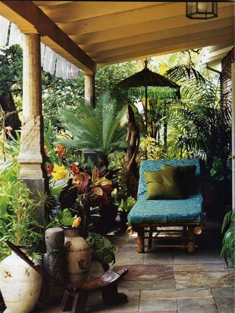 Tropical Patio Decor by Backyard Bliss 6 Methods To Turn Your Yard Into A