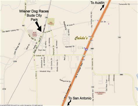 buda texas map buda lions club