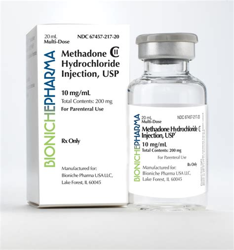 Detox Injection For by Methadone Iv Preparations Opiate Addiction Treatment
