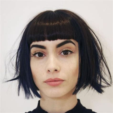 blunt shag 30 trendiest shaggy bob haircuts of the season