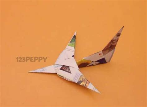 Paper Craft Aeroplane - how to make a paper plane 123peppy