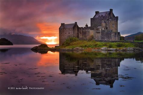 Small Home Plan by Eilean Donan Castle Scotland Amazing Places