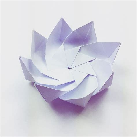 Origami Modular Flower - 850 best origami flowers plantas images on