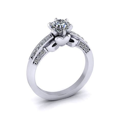 claddagh wedding rings claddagh engagement ring jewelry designs