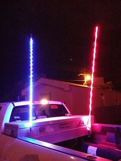 Light Whipping by Led Whips Led Light Whip 4 Wheel Parts Road