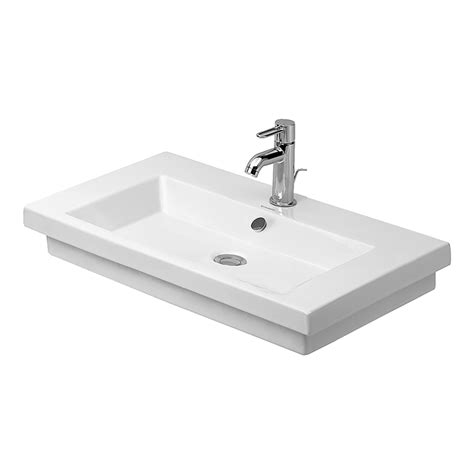 duravit 049180 00 2nd floor washbasin self rimming