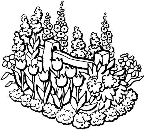 Imagenes De Jardines Bonitos Para Colorear   33 dibujos de jardines para colorear oh kids page 1
