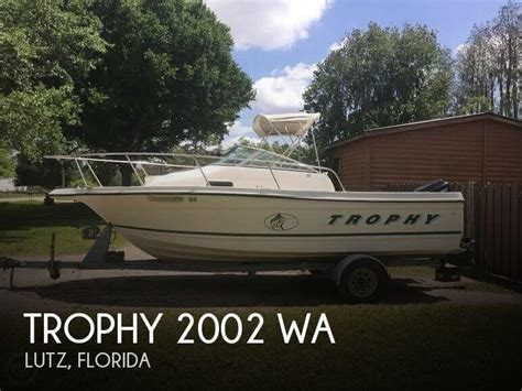 fishing boat dealers washington state trophy 2002 wa for sale in lutz fl for 15 500 pop yachts