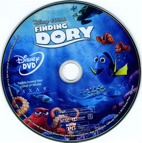 Dvd Etiketten by Finding Dory 2016 Cover Labels Dvd Covers