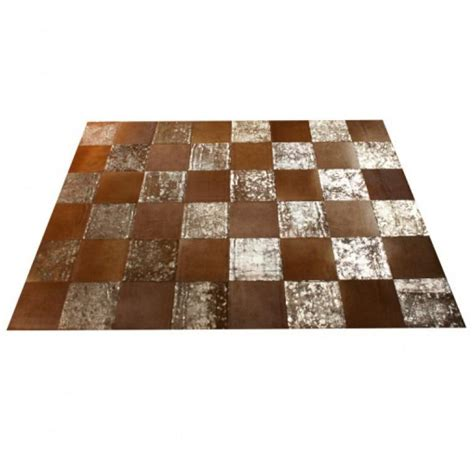 Rectangular Cowhide Rug Patchwork Rectangular Cowhide Rug Metallic Cowhide Carpets