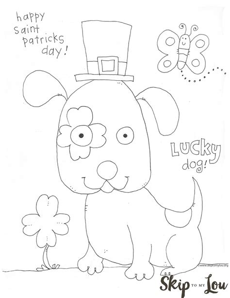 st patricks day pages for preschool coloring pages