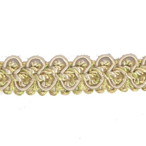 luxurious upholstery braid trim sold by the metre 1 5cm