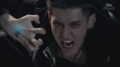dlcaps  exo wolf mv teaser chanyeol ate  brain
