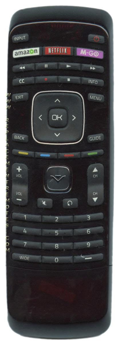 Buy Vizio Xrt302 098003061060 Tv Remote Control
