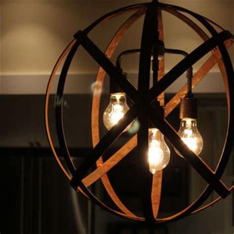 wine sphere chandelier orb chandelier industrial sphere metal from