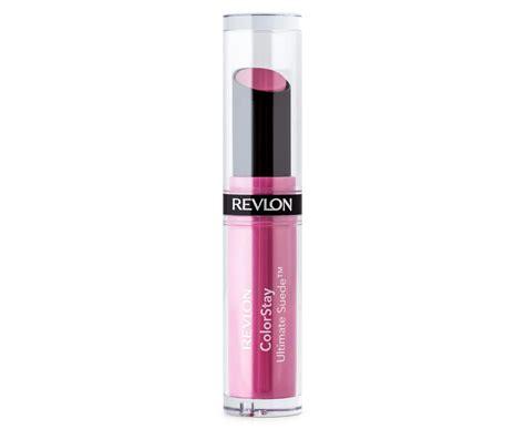 Lipstik Revlon Ultimate Suede revlon colorstay ultimate suede lipstick 001 silhouette