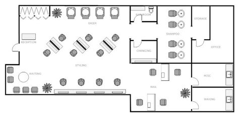 build a salon floor plan salon design layout nail salon floor plans find pdf