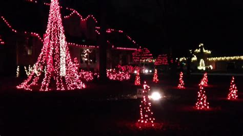 house with christmas lights set to music south tulsa home with christmas lights set to music youtube