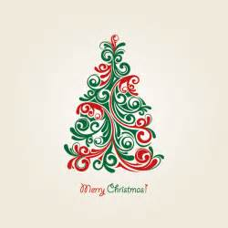 christmas tree vector vector graphic professional