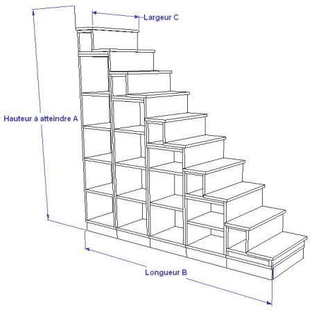 biblioth 232 que escalier pour mezzanine construction