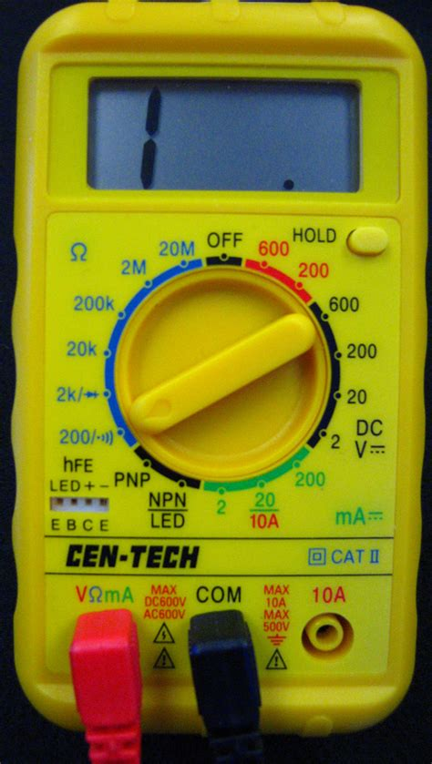 how to read resistors with multimeter using a multimeter