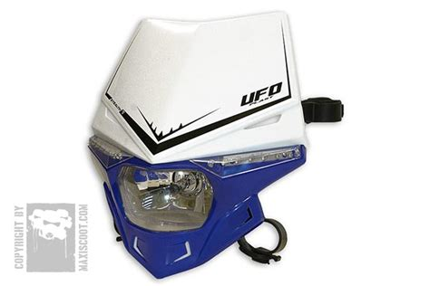 Lu Depan Stealth Ufo Plast plaques phare ufo stealth 12v 35w ce maxiscoot